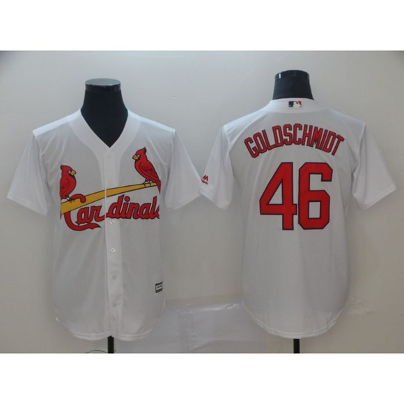 buy popular 0aea8 98440 St. Louis Cardinals Paul Goldschmidt Jersey 2